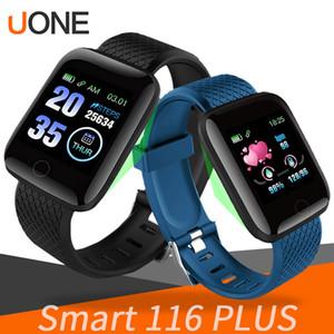 116 plus smart watch pulseiras de fitness rastreador monitor de freqüência cardíaca passo contador monitor de banda banda pulseira pk 115 plus m3 para iphone android