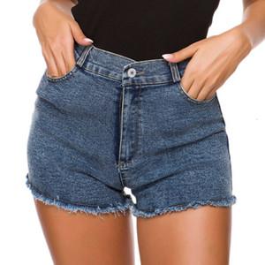 Hot vente d'été et d'automne Femme Cowboy Shorts Pantalons Hot Sexy taille haute Jeans Shorts élégants