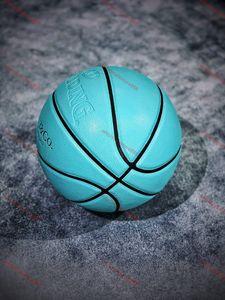 Tiffany Basketball TiffanCo. х Spalding Новый сезон Официальный Оригинальный Расплавленный Баскетбольный мяч GL7X Болл NEW Прибытие Расплавленный PU Размер 7 Баскетбол Подарки
