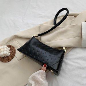 LONOOLISA 2020 neue Frauen-Handtaschen-Schulter Achsel-Beutel Art und Kuriertaschen Geldbörsen und Handtaschen Luxuxentwerfer Sac ein Haupt
