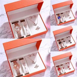 Luxo Iced Out Assista Ouro Diamond Watch Para Homens Mulheres Alta Qualidade Big couro quartzo impermeável relógio de pulso Set Relogio Masculino # 775
