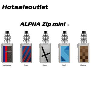 VOOPOO Alpha Zip 미니 키트 120W VOOPOO Alpha Zip 미니 박스 Mod 4ml VOOPOO 마트 탱크 MT Mesh Coil 100 % Original