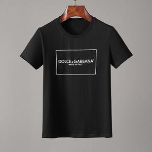 2020 Мужские футболки Лето Новый Хлопок С Коротким Рукавом Дышащие Мужчины Женщины Повседневная Уличная Футболки