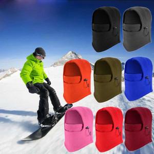 Máscara Quente Mens Inverno Fleece Balaclava térmica Motorcycle Ski Hat completa Neck Face