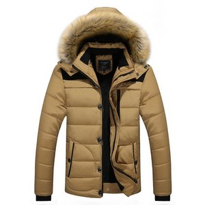 cotton-padded jacket qiu dong with middle-aged cotton-padded clothes coat in the winter the old father winter jacket