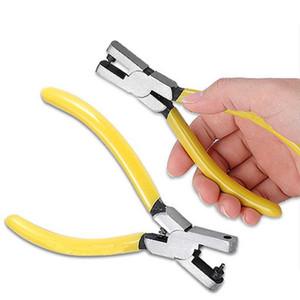 Распродажа!!! Желтые часы для ремешок ремешок ссылка пояса дырокол плоскогубцы ушко кожаный инструмент для ремонта отличное качество
