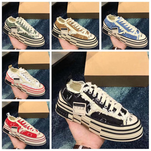 2020 Chaussures Casual XVessel G.O.P. Chaussures Hommes toile Lows femmes TOP Mode Qualité Designer navire Tripes S Piece shoes Piece Speed