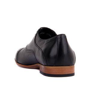 Sail-Lakers en cuir noir MASCULIN Chaussures