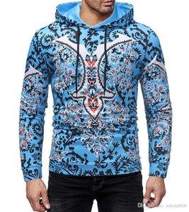 남성 디자이너 까마귀 운동복 남성 스웨터 재킷 긴 소매 스웨터는 가을 겨울 후드 야구 Sweatershirt 스포츠 코트를 인쇄