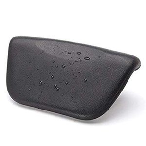 Spa Bath Pillow, PU Bath Cushion With Non-Slip Suction Cups, Ergonomic Home Spa Headrest For Relaxing Head, Neck, Back And Sho