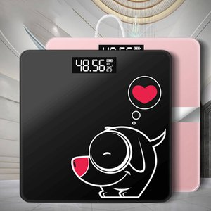 Bathroom New Scale Digital Weight Floor Body Scale Glass Smart Electronic Scales USB Charging LCD Display Body Weighing
