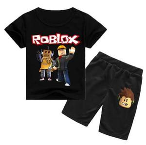 детский пижамный комплект дети девочка мальчики мультфильм яд одежда костюм с коротким рукавом пижамы топы + шорты комплекты нижнего белья