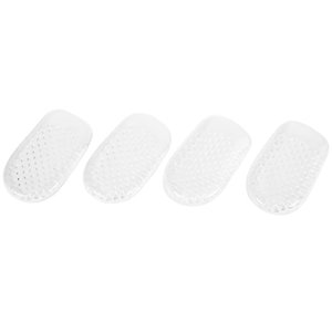 Gel Heel Cups Pads for Plantar Fasciitis Sore Feet Bruised Foot Pain Relief Bone Spurs Treatment Shoes Support Protectors (2 Pai