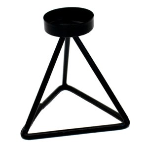 Metal Black Candlestick Candle Stand For Home Table Wedding Decor