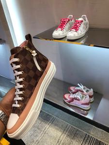 2020 Dating artefato para Womens designers de sapatos de luxo Casual Sapatos Discoteca sneakers material avançado com caixa