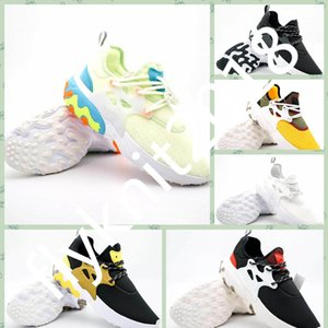 NRPST1 Free Shipping Prestos mids Epic React Men Women casual shoes Comfortable Foot Feel Mesh Breathable Sneakers Black White Casual Shoes