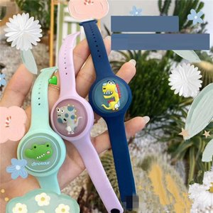 Summer Outdoor Mosquito repellent hand ring children's Cartoon anti-mosquito watch Mosquito repellent Silicone Bracelet T9I00397