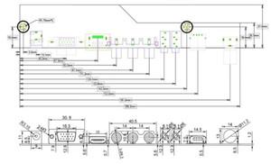TV+HDMI+VGA+AV+USB+AUDIO TV LCD driver board 17