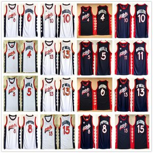 1996 US Dream Team Basketball Jersey Shaquille ONeal Hakeem Olajuwon Penny Hardaway Charles Barkley Reggie Miller Scottie Pippen Grant Hill