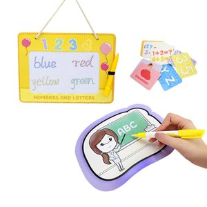 2 in 1 Educational STEAM Aqua Doodle Water Drawing Board and Magnetic Drawing Board Set Drawing Toy for Kids