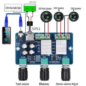 1 шт. / лот DC 12 в 20 Вт+10 Вт + 10 Вт Yamaha 2.1 канал стерео аудио цифровой усилитель мощности доска бас сабвуфер усилитель XH-A355 aplificador аудио