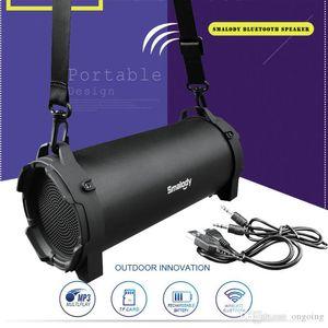 Alta qualità Smalody Bluetooth Speaker esterno stereo senza fili ad alta Bass con cinghia di trasporto per campeggio partito grossi altoparlanti buon suono