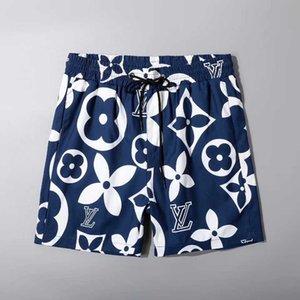 Modelos de explosão 2020ss de moda verão calções novos calções de designer de secagem rápida swimwear impressa calças de praia de tabuleiro mergulho sho homens dos homens