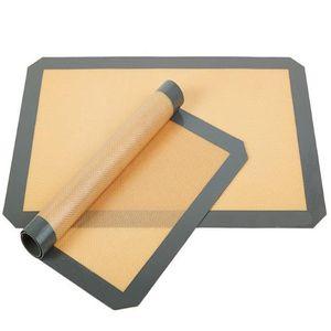 Антипригарным силиконовый коврик для выпечки Macaron Антипригарным круг Macaroon Pad лист кухня прокатки тесто коврик вкладыш инструмент