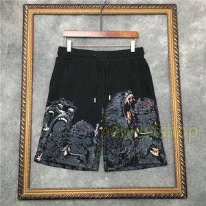 2020 Жаркое лето Дорогих Шорты мужские обезьяны брат ротвейлера печати брюки Мода пляж шорты новые дизайнерские брюки мужчины женские Сыпучие Pant