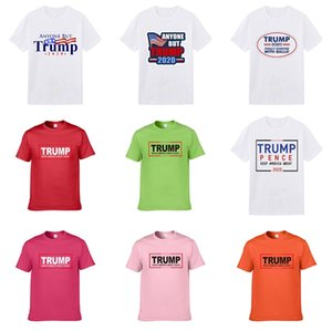 2020 New Fashion Designer Clothing Europe Italy Cooperation Rome Special Edition Reflective Trump T-Shirt Men'S Women'S Casual Cotton Luminou