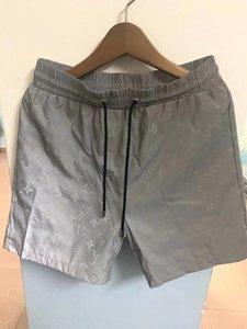 2020 Hommes Shorts Hommes Designer Été Mode de plage Pantalons Hommes Shark coton imprimé haute qualité à court