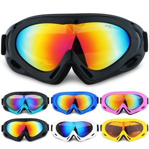 Moda de arena a prueba de gafas de sol de deporte al aire libre de la escalada de una sola capa de los niños Protección de los ojos Gafas de esquí Gafas Adolescente LT-TTA1147