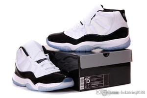 Big Size 11s tênis de basquete dos homens 11s CRIADOS Concord Sneakers Outdoor Sports Sneakers Big Size Para Big Men US 14 15 16