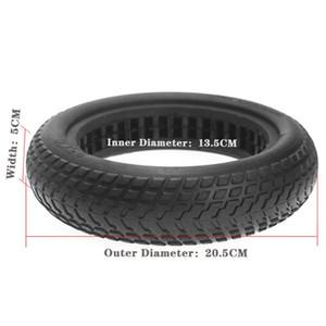 Damping Scooter oco Tire sólida para chefes do pneu da roda não-pneumático Rubber Tire Clube Xiaomi Mijia M365 Skate Scooter Tire 8,5 polegadas