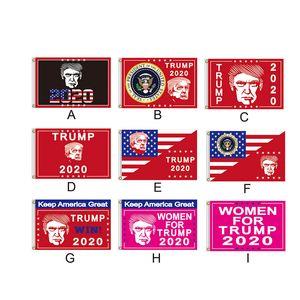 90 * 150CM Donald Trump per le donne Trump 2020 Flag mantenere l'America Great Again poliestere bandiere rosse rosa campagna banner della novità Gifts alimentazione