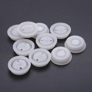 50 Piezas de silicona One Way La desgasificación de la válvula PE filtro de escape bolsa de ventilación Vent cafés de Café