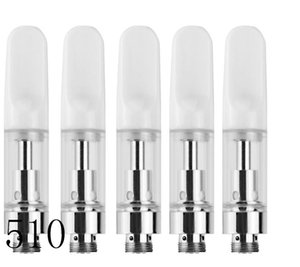 510 full ceramic coil thick oil glass cartridge 0.5ml glass bud touch pen vaporizer honey oil smoking device portable wax oil smoking ecig