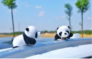 Panda PINS Broches pour filles étudiants mignons animaux en peluche de panda de bande dessinée d'art en tissu Broche cadeaux fête d'anniversaire 9x7cm 759