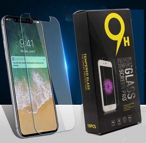Pour Samsung A3 A5 J3 J5 J7 2017 A8 2018 A70 A71 A50 A51 A31 en verre trempé 2.5D 9H écran Explosion Protecteur avec boîte d'emballage