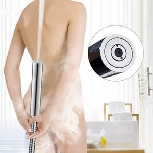 Interruptor manual RainPulse Cabeça de chuveiro de bronze Pressão Pistola Super Supercharged de banho amovível lavável Cabeça de chuveiro
