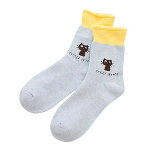 2019 Fashion New Hot Womens Super Soft Warm Cozy Kitty Fuzzy Fleece-lined With Grips Slipper Calcetines Socken Chaussettes