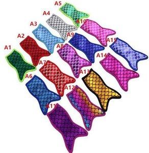 Mermaid popsicle Holders Bag Neoprene Mermaid Printing Popsicle Ice Bags Reusable Insulation Ice Pop Sleeves Bags Ice Cream Tools LSK138