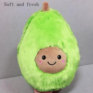 Cartoon Plüschspielzeug Simulation Avocado Kissen Obst doll doll Avocado Puppe Kissen Freunde bequem zu Hause versorgt senden