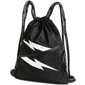Coulisse tasca zaino maschio coulisse idoneità zaino coulisse Allenamento custodia borsa leggera femminile borsa semplice