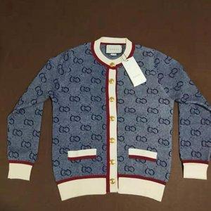 Gucci coat Womens Marca Knit Cardigan maglioni per ragazze casuale hococal pulsante caldo cappotto nuovo modo di stile 2020 di marca dei vestiti vendita calda di trasporto