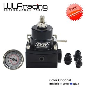 Automobiles & Motorcycles FREE SHIPPING AN8 high pressure fuel regulator w  boost -8AN 8 8 6 EFI Fuel Pressure Regulator with gauge WLR7855