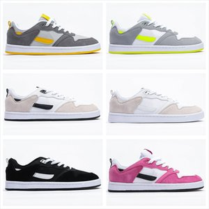2020 New Sports Shoes SB Alleyoop Men Women Gray White Black Pink Cushioning Sports Casual Skateboard Shoes