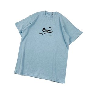 Vintage-Papier Clip-Verschluss-T-Shirt 2020 Mode, Bekleidung für Männer-T-Shirt Kleidung Baumwolle Kurzarm-T-Shirt atmungsaktiv Frauen