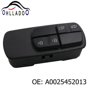 HLLADO Electric Window Lifter Switch 0025452013 Driver's Side Power Window Switch A0025452013 For Benz Truck High Quality