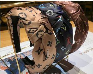 moda de venda de impressão Hot headbands Chiffon atado Headband Cabelo Hoop Headwear Acessórios para Feminino Mulheres atacado